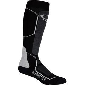 Icebreaker Ski+ Medium OTC Sokken Dames grijs/zwart